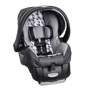 Evenflo Embrace LX Infant Car Seat, Raleigh Review